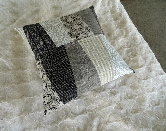Quilted Pillow Tutorial with Empire from Parson Gray