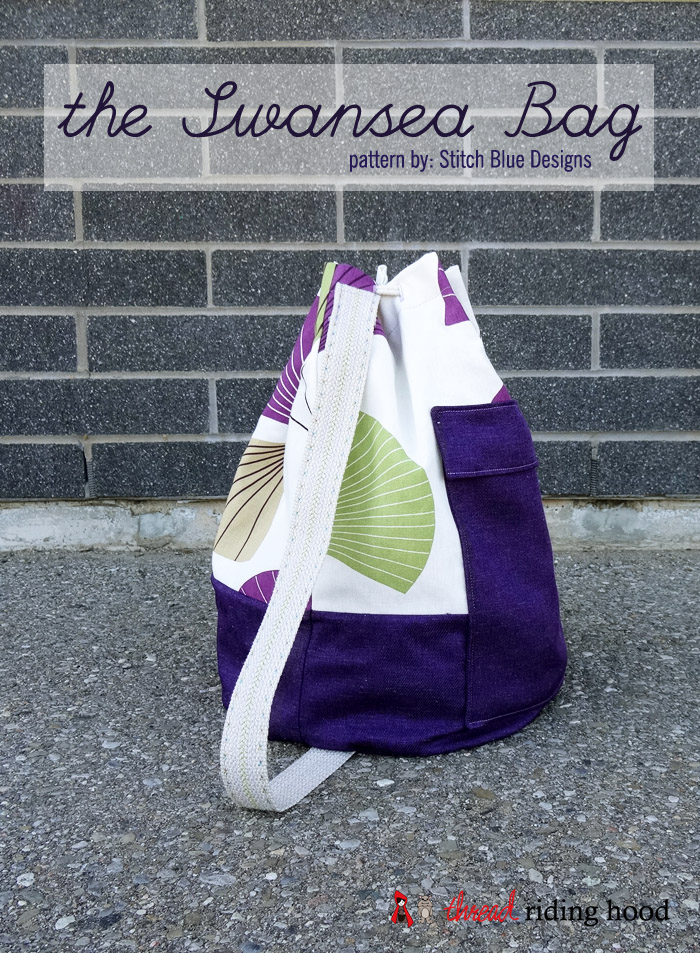 the Swansea bag {pattern review + giveaway}