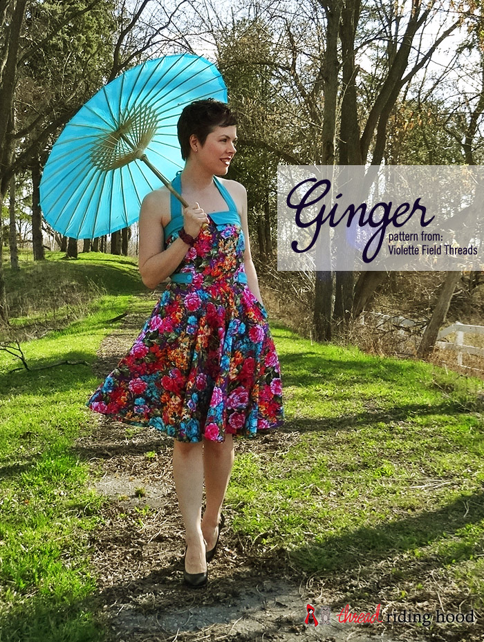 Bundle Up! Violette Field Threads - Ginger {pattern review}