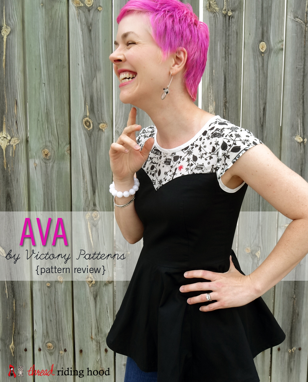 Ava by Victory Patterns {pattern review, discount + giveaway!}