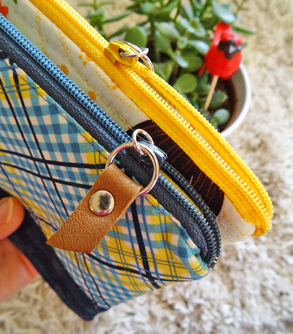 Teacher Gifts {+ no-sew leather zipper pull DIY}