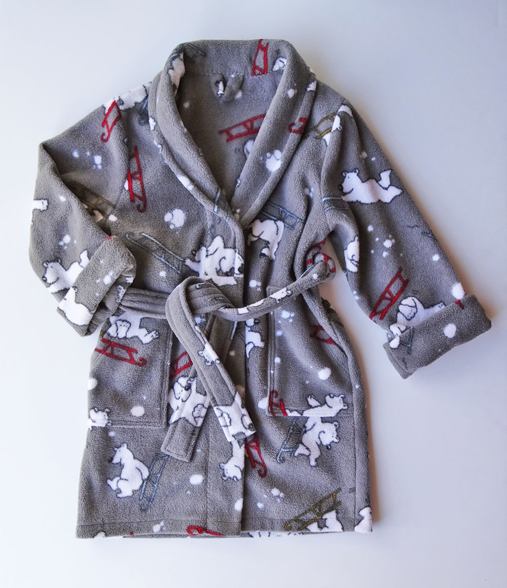 a cute Finley and Quinn Robe for the little one